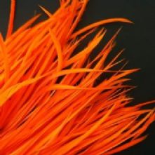 Flo Orange Goose Biot Feathers